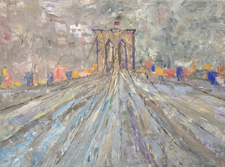 brooklyn bridge triptyque2