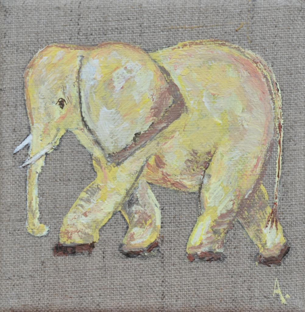 elephant 20X20