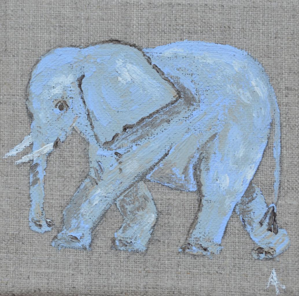 elephant 10X10