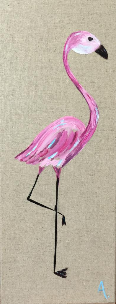 Flamant rose 20X50