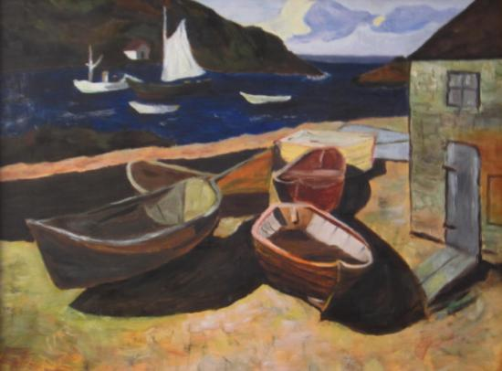 Barques, d'après Eric Hudson