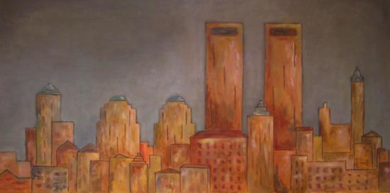 Sunny Manhattan (50X100)