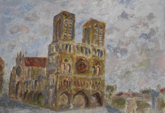 Notre Dame de Paris (30x40)