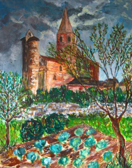 Villeneuve d'Aveyron - Potager