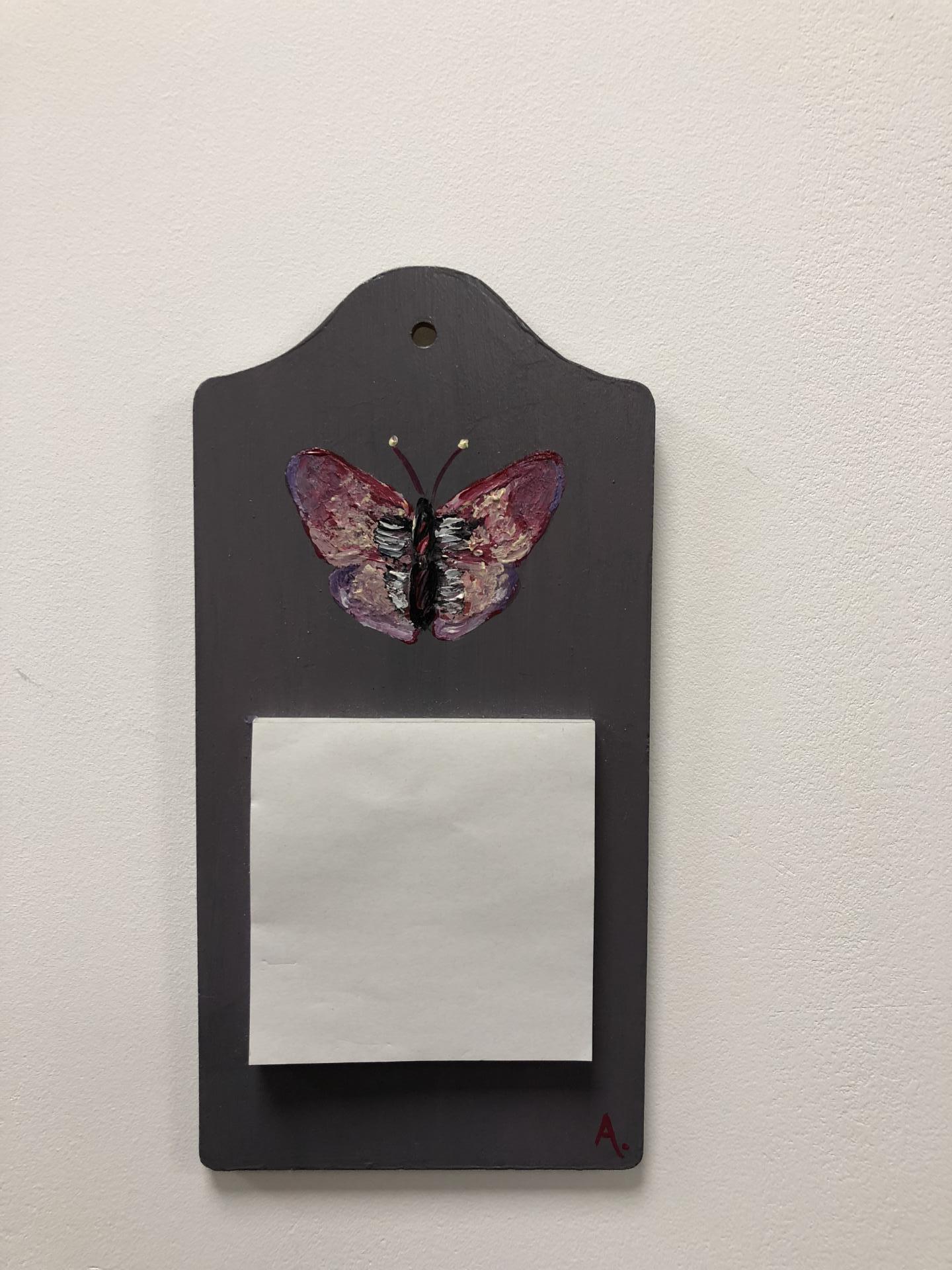 pense-bête papillon