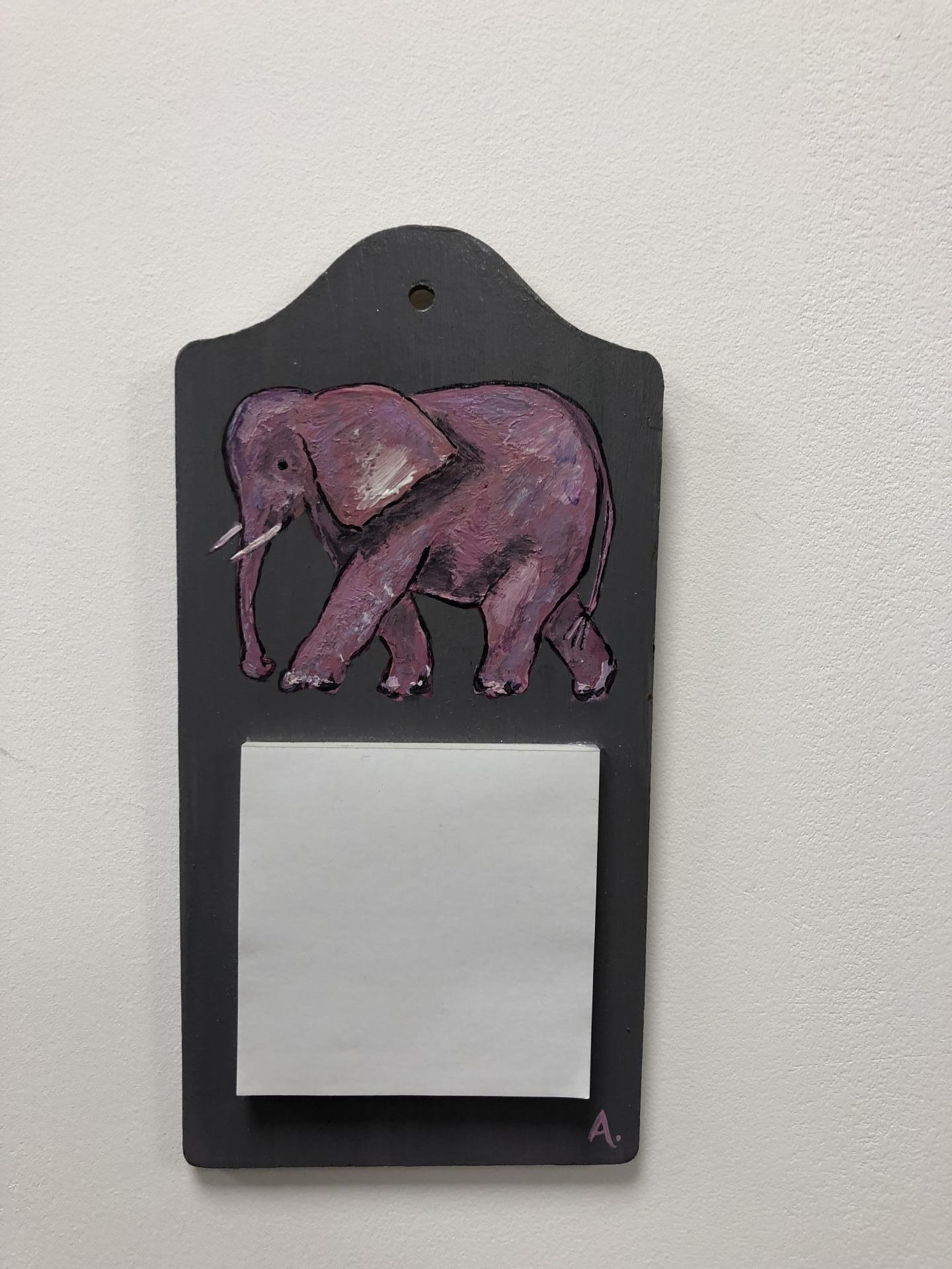 pense-bête éléphant